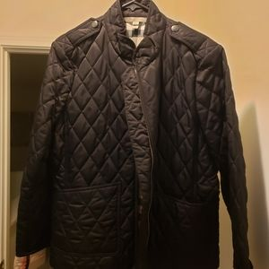 Burberry quilt jacket XL (Black)